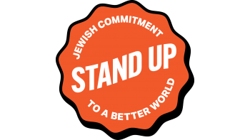 Stand Up: Jewish Commitment to a Better World's logo