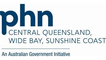 Central Queensland, Wide Bay, Sunshine Coast PHN's logo