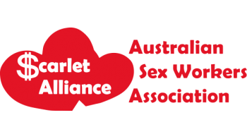 Scarlet Alliance, Australian Sex Workers Association's logo