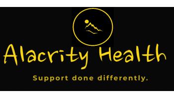 Alacrity Health's logo