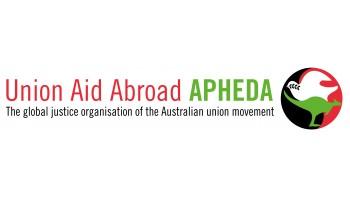 Union Aid Abroad - APHEDA's logo