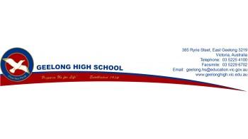 Geelong High School's logo