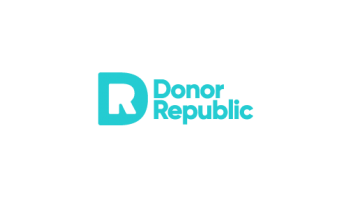 Donor Republic's logo