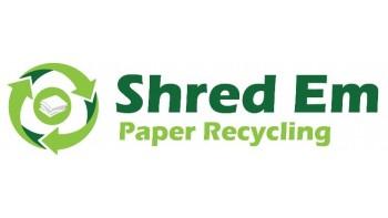 Shred Em Paper Recycling's logo